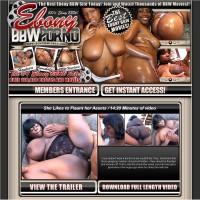 Ebony BBW Porno
