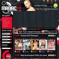 Maniac DVDs