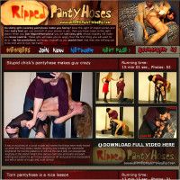 Ripped Pantyhoses review